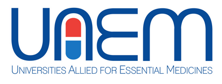 UAEM Universities Allied for Essential medicines logo